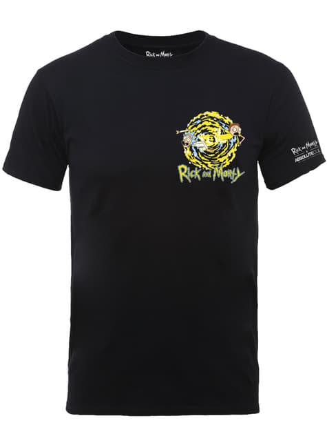 Camiseta de Rick y Morty Morty Portal Pocket para hombre