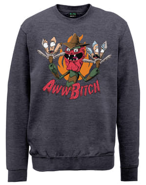 Scary Terry Aww Bitch Sweatshirt Rick und Morty