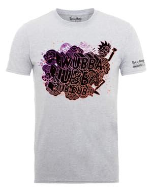 ग्रे रिक और मोर्टी वुब्बा लुब्बा टी-शर्ट
