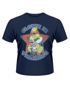 T-shirt de Os Simpsons Clown