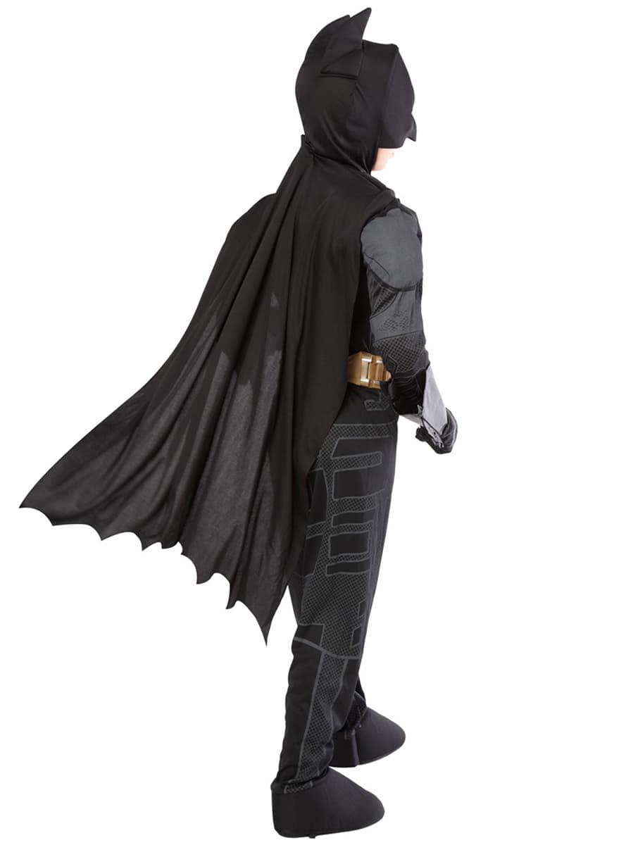 costume de batman the dark knight rises haut de gamme pour enfant funidelia. Black Bedroom Furniture Sets. Home Design Ideas