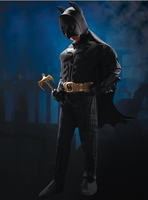 Detský kostým Batman Deluxe - Temný rytier povstal