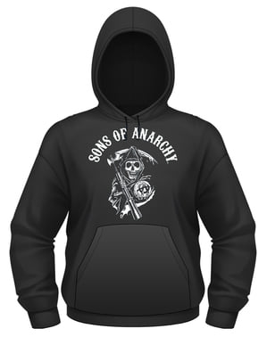 Sons of anarchy klassisk hoodie