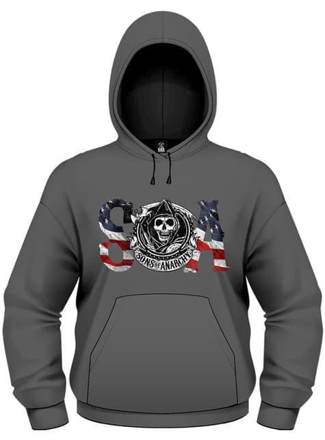 Sons Of Anarchy Flag sweatshirt