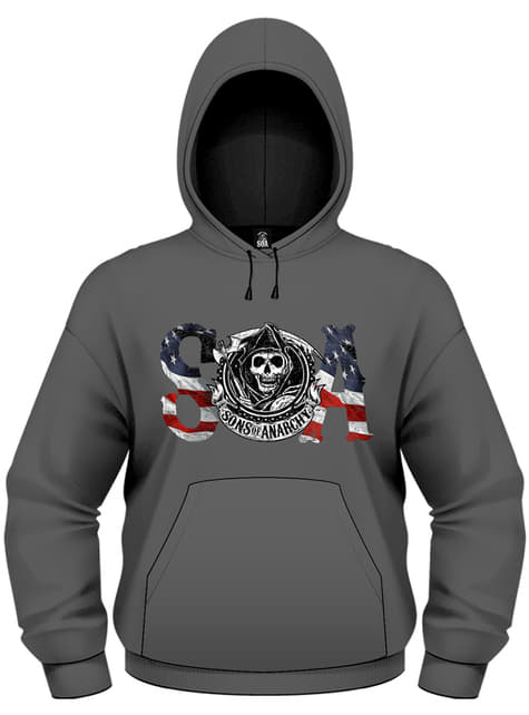 Sweatshirt de Sons Of Anarchy Flag