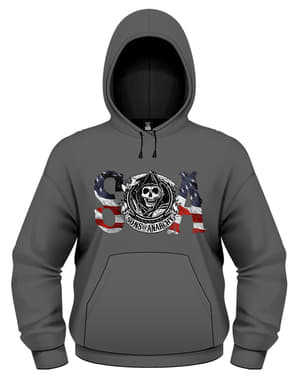 Sons of Anarchy Flag Sweatshirt