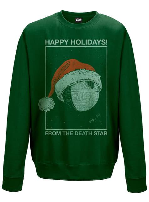 Star Wars Death Star Holidays sweatshirt
