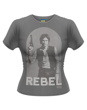 Star Wars Han Rebell t-skjorte for dame