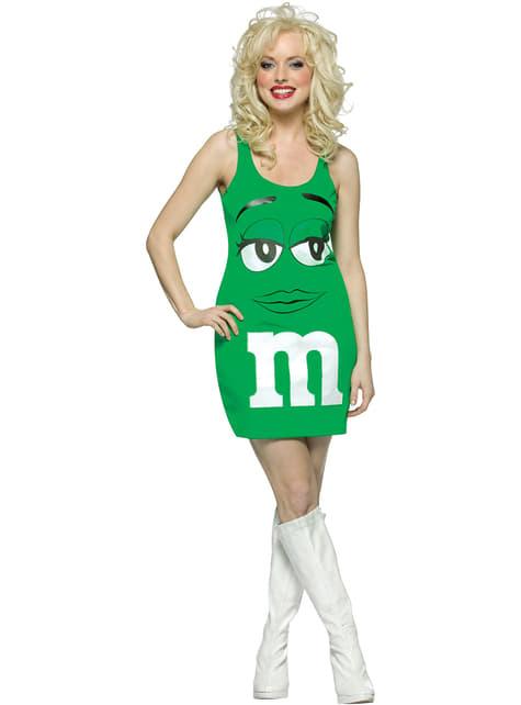 Fato de M&M's Verde (vestido)