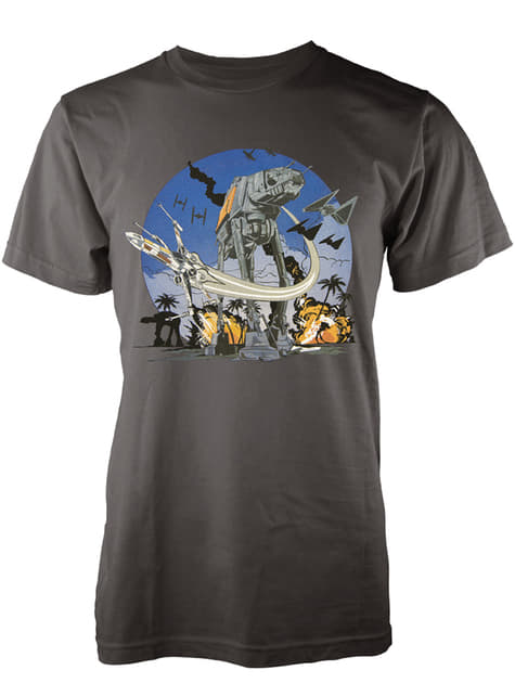Camiseta de Star Wars Rogue One At-Act