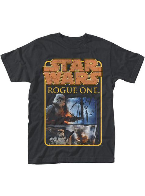 Star Wars Rogue One Stormtrooper Logo Poster t-shirt