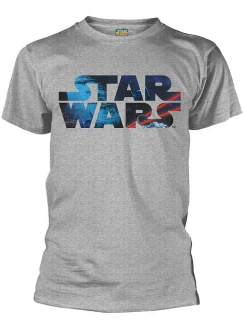 Koszulka kosmiczne logo Star Wars