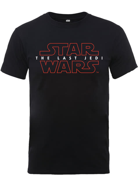 Camiseta de Star Wars The Last Jedi Logo para hombre