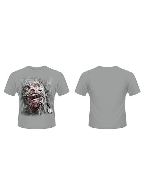 Jumbo Walker Face T-Shirt The Walking Dead