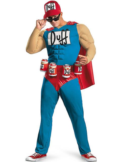 Duffman Kostüm aus Die Simpsons