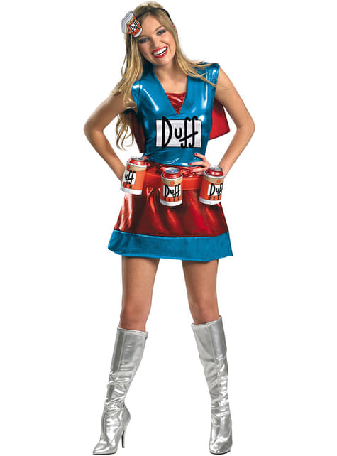 Kostým pro dospělé Duffwoman (Sipmsonovi)