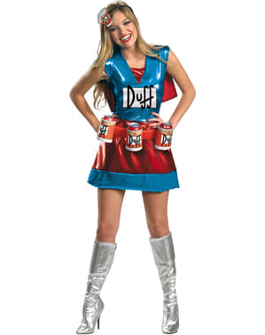 Duffwoman: костюм для дорослих Сімпсонів
