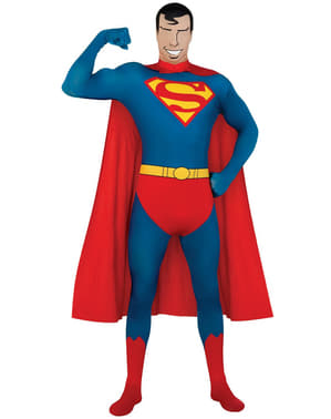 Second Skin Superman Adult Costume