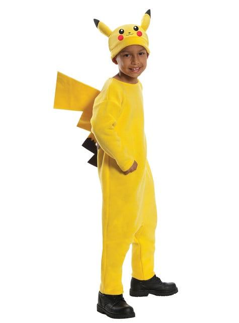 Pikachu Pokemon kostyme for småbarn