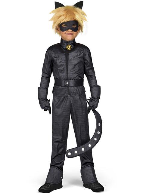 Fato de Gato Noir As Aventuras de Ladybug infantil