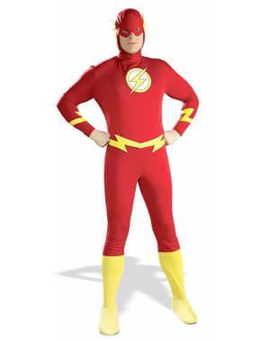 Klassisk Flash Kostyme Voksen