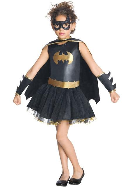 Disfraz de Batgirl niña con tutú