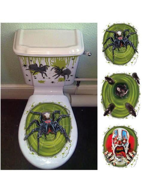 Autocolante Halloween para WC