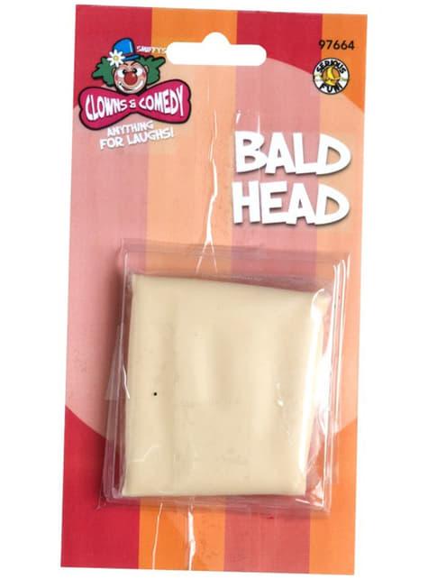 Calva cabeza pelada - para tu disfraz