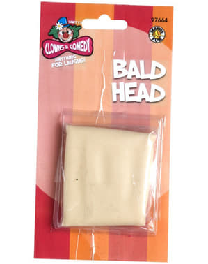 Glatze geschorener Kopf