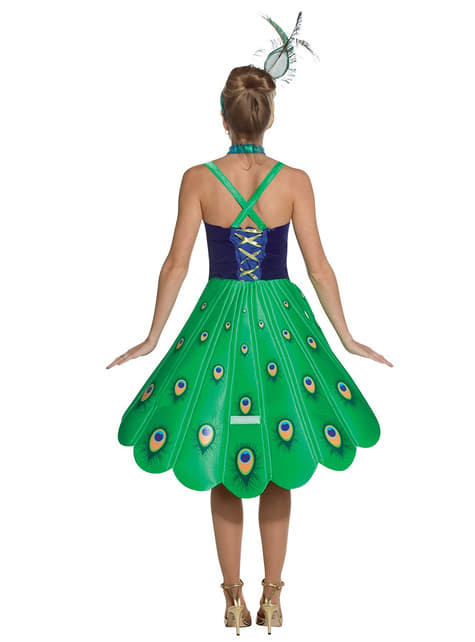 Peacock Girl Adult Costume
