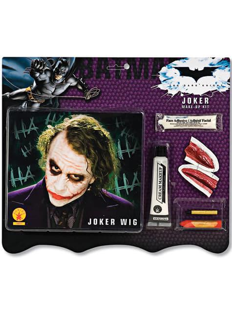 Kit com Peruca e Maquilhagem Joker Batman