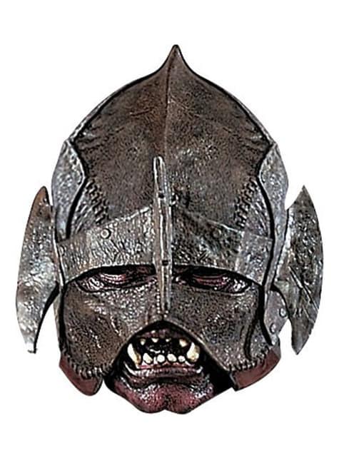 Máscara de Uruk-Hai Deluxe