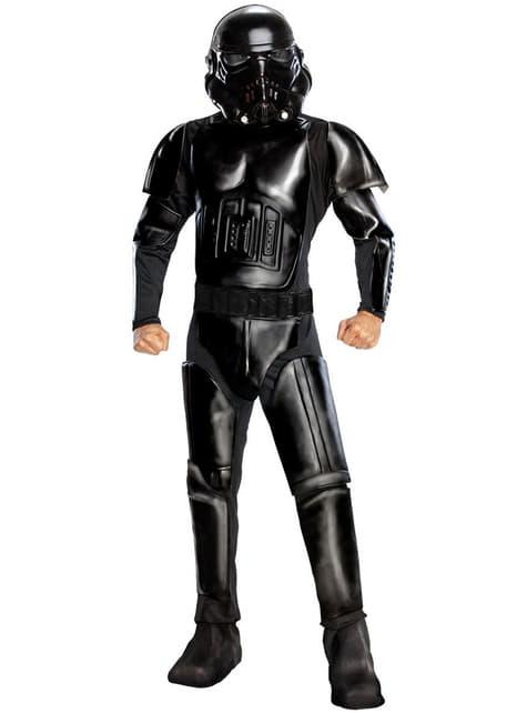 Black Shadow Stormtrooper Adult Costume