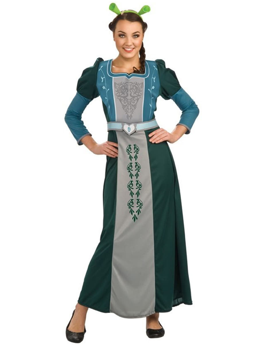 costume de princesse fiona dans shrek 4 haut de gamme funidelia. Black Bedroom Furniture Sets. Home Design Ideas