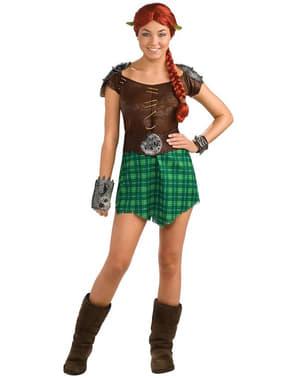 Costume de Fiona Shrek guerrière haut de gamme