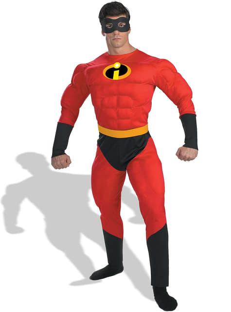 Costume Mr Incredibile deluxe adulto