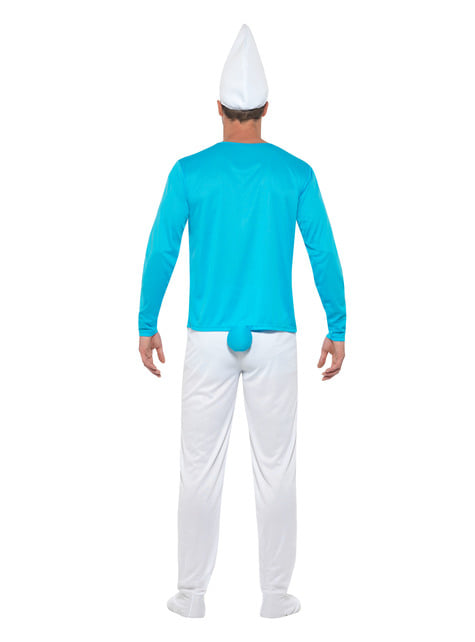 Disfraz de Pitufo - hombre