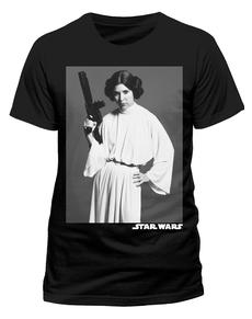 Camiseta de Star Wars Retrato de Leia
