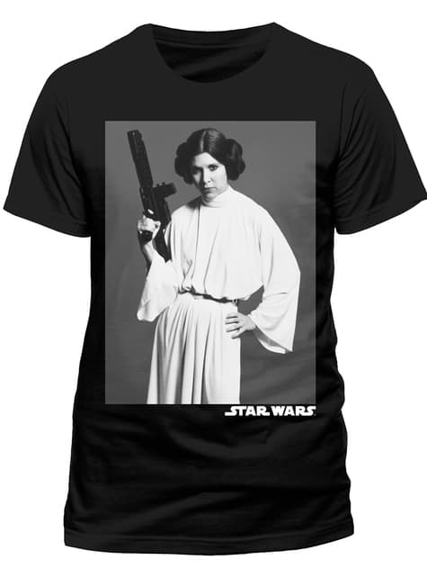 Camiseta de Star Wars Retrato de Leia