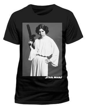 Shirt Star Wars portret van Leia