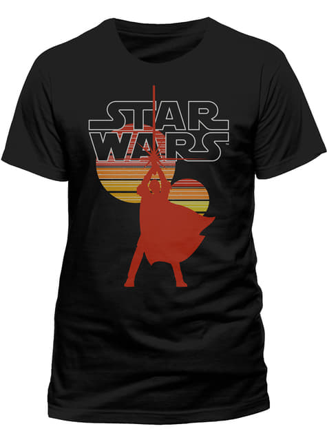 T-shirt de Star Wars Retro Sun