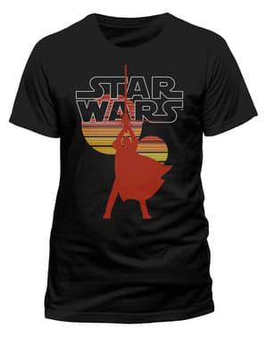 Yıldız Savaşları Retro Sun tişört