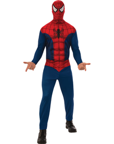 Disfraz de Spiderman basic para hombre