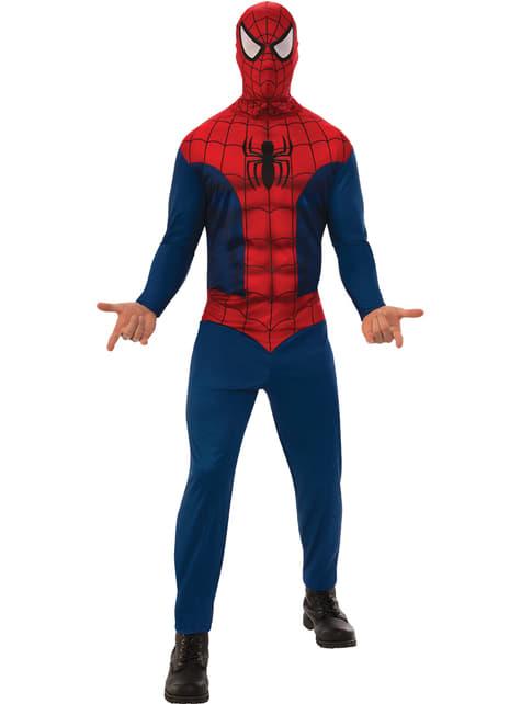 Spiderman basis kostuum voor mannen