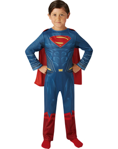Disfraz de Superman Liga de la Justicia classic para niño