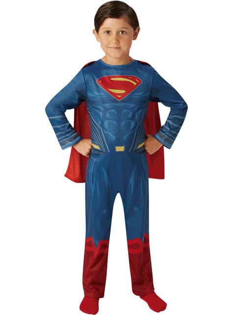 Superman Justice League klassiek kostuum voor jongens