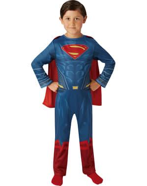 Supermand justice league klassisk kostume til drenge
