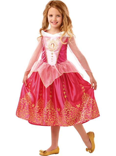 Sleeping Beauty deluxe costume for girls