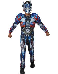 Disfraz de Optimus Prime Transformers 5 deluxe para niño