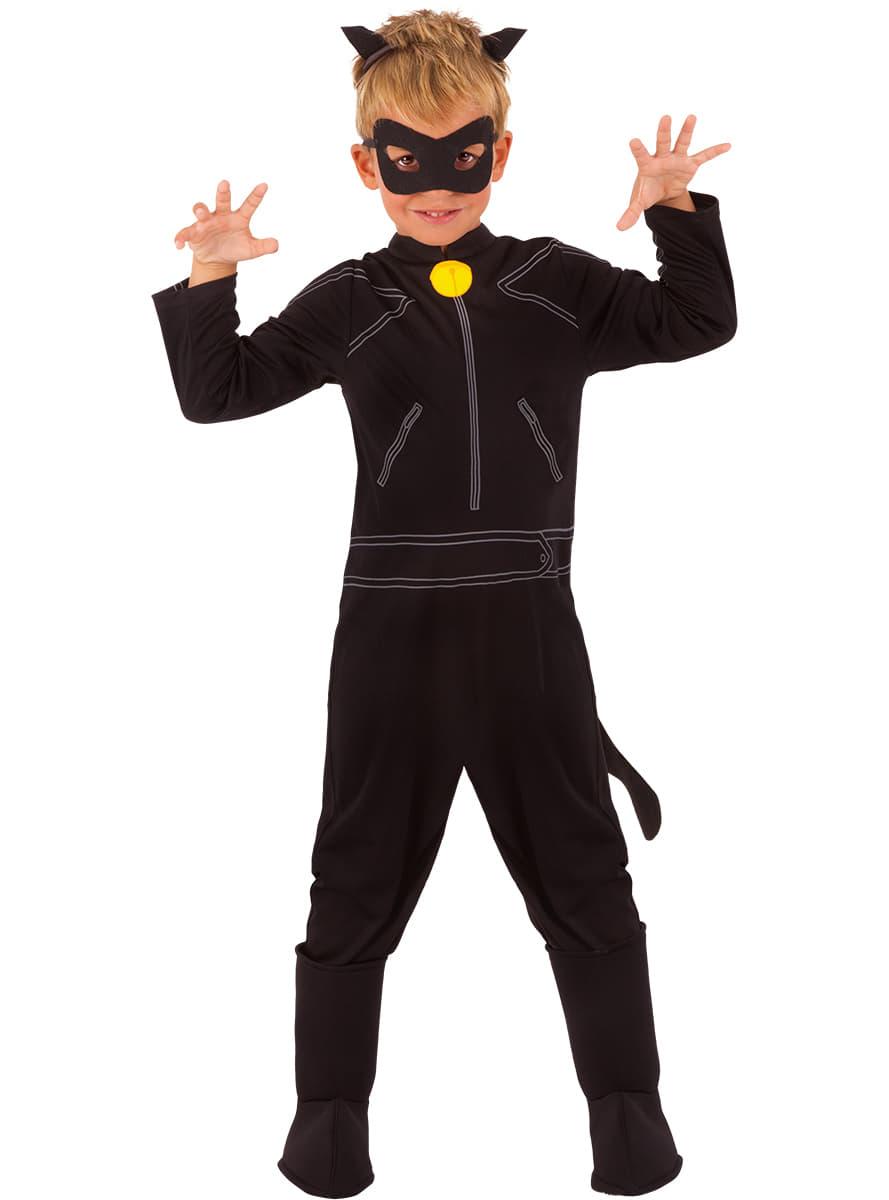 costume chat noir miraculous les aventures de ladybug. Black Bedroom Furniture Sets. Home Design Ideas